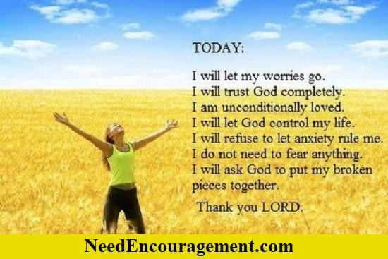 Stop Worrying and start praying!