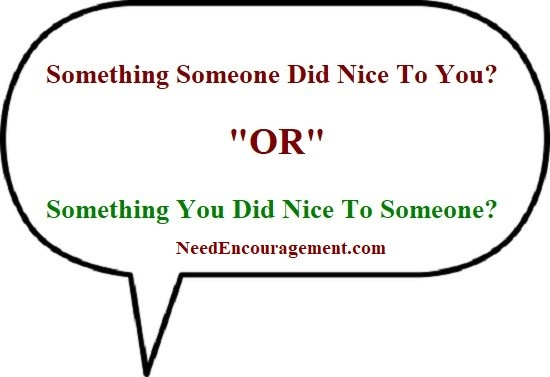 Tell us something good so we can tell others about it
