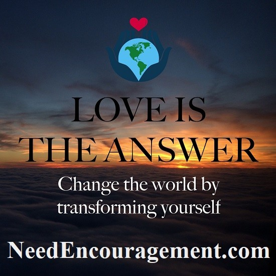 Love and truth are the answer!