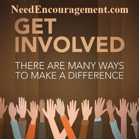 Get involved in many ways to make a difference!